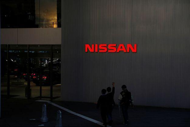 Les quartiers généraux de Nissan à Yokohama au Japon.