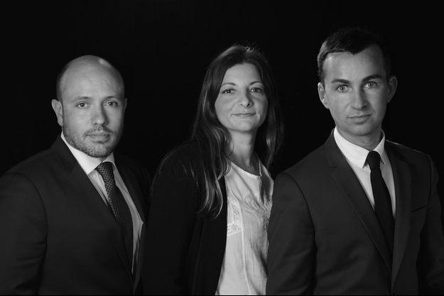 Associés fondateurs de La centrale des SCPI : Grégorie Moulinier, Véronique Baron, Lionel Benhamou