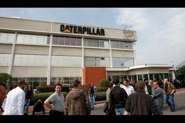 Nicolas Polutnik, le directeur de Caterpillar France, a été retenu durant un jour et demi.