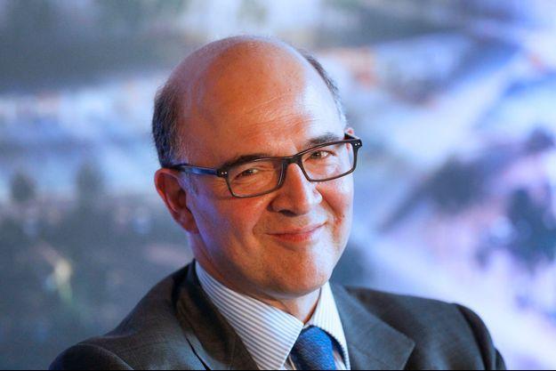 Pierre Moscovici à Lyon, le 30 juillet dernier.