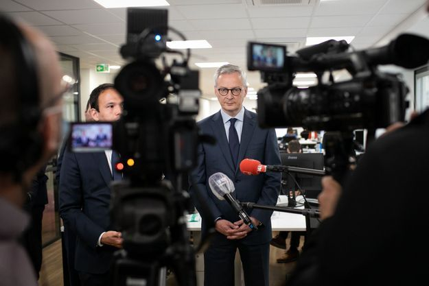 Le ministre de l'Economie et des Finances, Bruno Le Maire, le 5 juin.