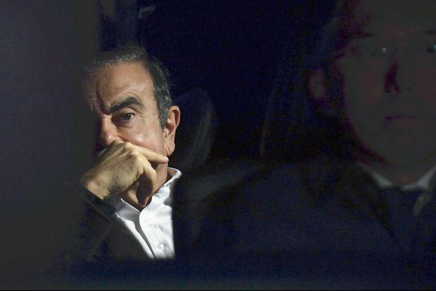 Carlos Ghosn à Tokyo, le 6 mars dernier.