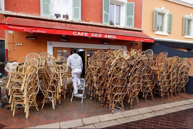Un café à Nice (image d'illustration).