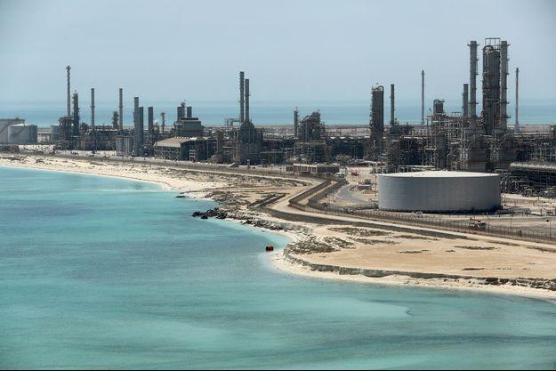 La raffinerie Saudi Aramco de Ras Tanura, en Arabie Saoudite, photographiée en mai 2018.
