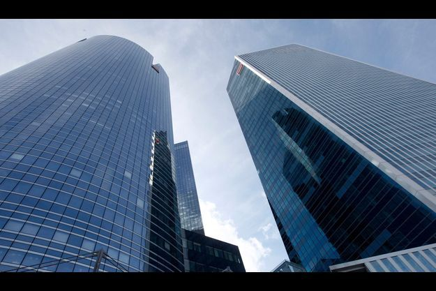 Le siège de la Société générale à La Défense. La banque française est citée parmi d'autres grandes banques internationales dans une plainte contre X déposée par une de ses actionnaires.