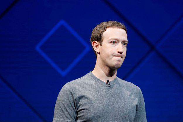 Mark Zuckerberg à San Jose, en avril 2017.