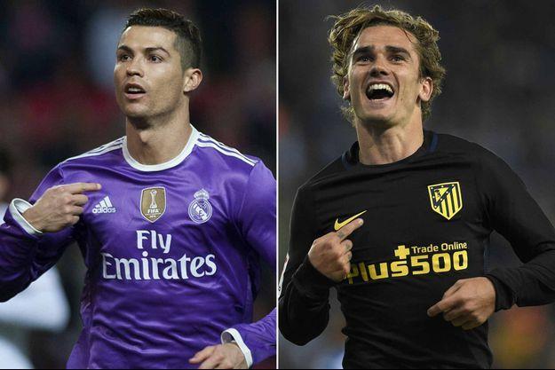 Cristiano Ronaldo et Antoine Griezmann se sont affrontés mercredi soir en demi-finale de la Ligue des Champions (photo d'illustration).
