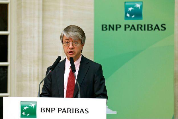 Jean-Laurent Bonnafé, directeur général de BNP Paribas.