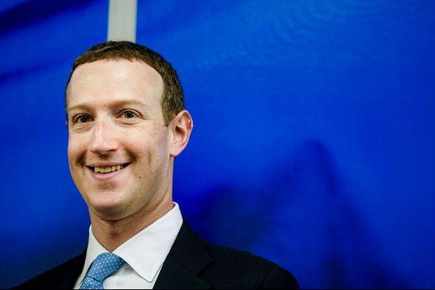 Mark Zuckerberg à Bruxelles le 17 février dernier.