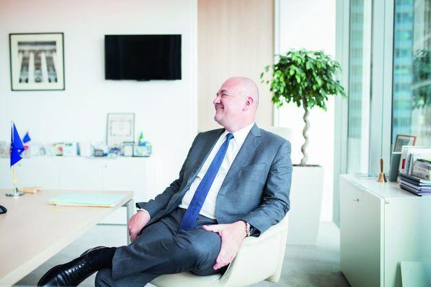 L'ancien DG de la banque Santander dirige Euronext depuis 2015.