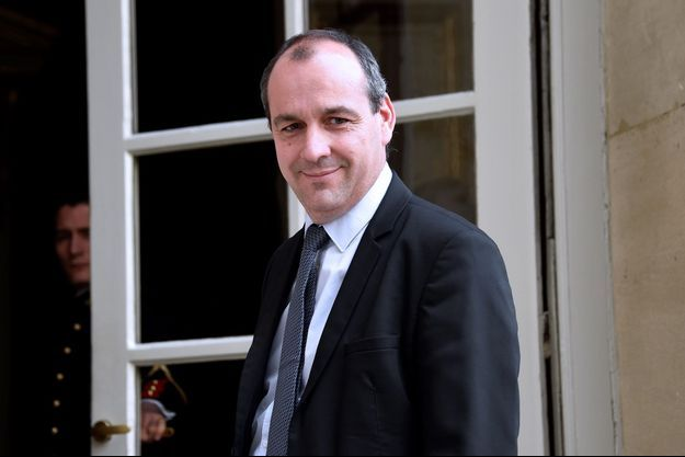 Laurent Berger sur le perron de l'hôtel Matignon, en juin dernier.