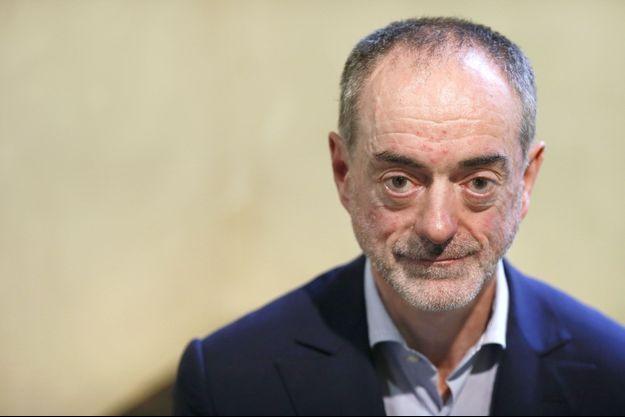 Jean-Jacques Augier, ex-patron des taxis G7, en 2013.