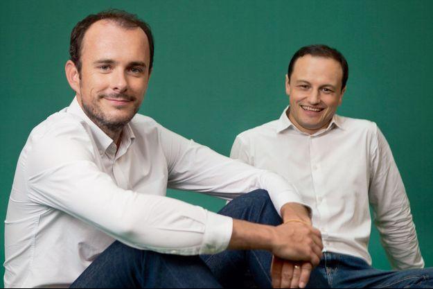 Eric La Bonnardière (à g.) et Yvan Wibaux.