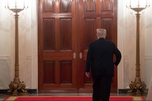 Donald Trump à la Maison-Blanche, le 21 mars.