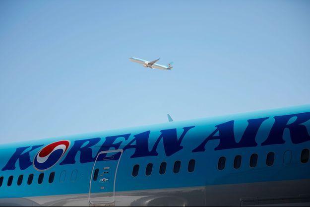 Un appareil Korean Air (photo d'illustration).