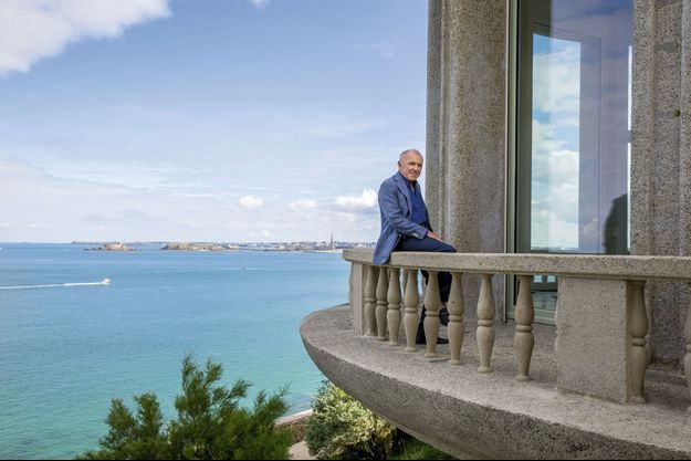 Sa dernière acquisition, la maison Greystones à Dinard, une œuvre d'art due au célèbre architecte Michel Roux-Spitz. Vue imprenable sur Saint-Malo et le grand large.