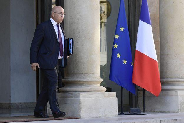 Michel Sapin à l'Elysée, jeudi.