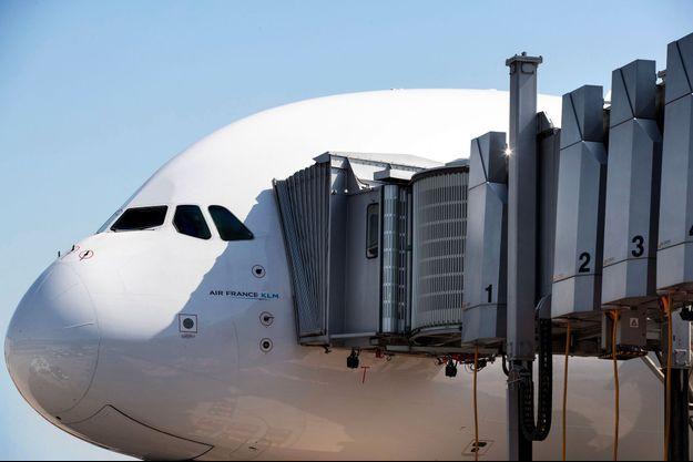 Un Airbus A380 à Roissy, le 27 juin.
