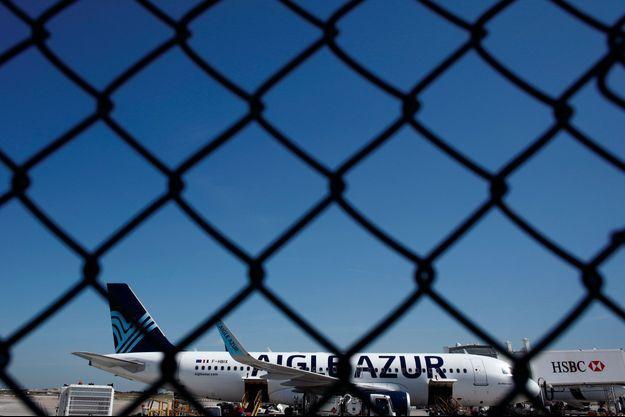 Un appareil d'Aigle Azur à Orly, le 6 septembre.