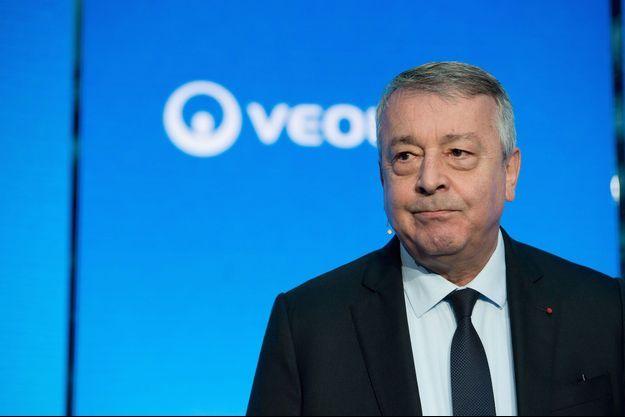 Antoine Frérot, le P-DG de Veolia, rêve de « construire un super champion mondial de la transformation écologique ».