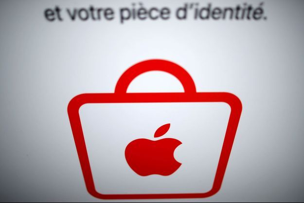 Dans un Apple Store parisien, mercredi. (photo d'illustration)