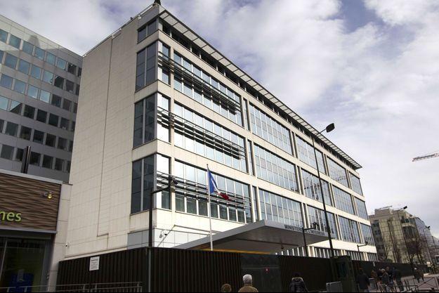 Le siège de la Direction générale de la sécurité intérieure, à Levallois-Perret.