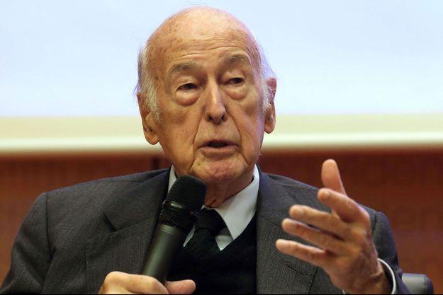 Valéry Giscard d'Estaing en novembre 2014 à Berlin.