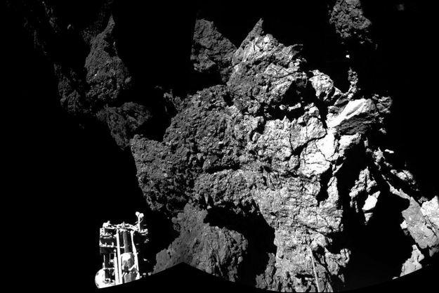 Philae lancé de la sonde européenne Rosetta le 13 novembre dernier.