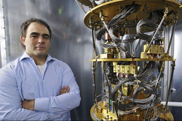Geordie Rose, dirigeant de la société canadienne D-Wave, qui fabrique l'ordinateur quantique.