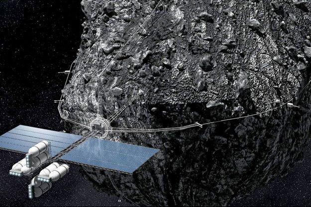 Les méthodes d'exploration: … de lointains astéroïdes à l'aide de vaisseaux spatiaux et les faire tourner en orbite autour de la Terre pour les exploiter ensuite avec des robots mineurs.