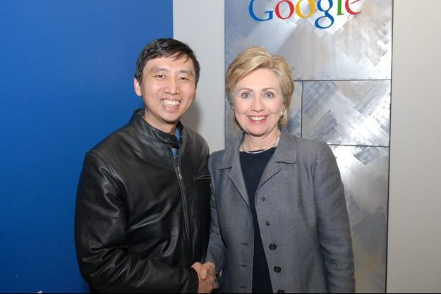 Chade-Meng Tan avec Hillary Clinton