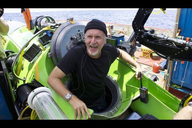 James Cameron est le premier homme a être descendu seul dans la fosse des Mariannes.