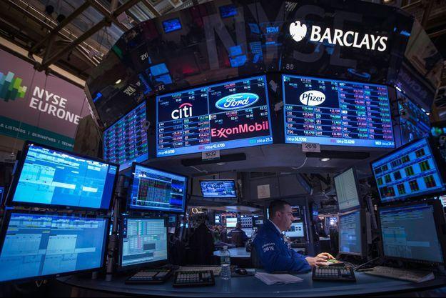 La Bourse de New York.