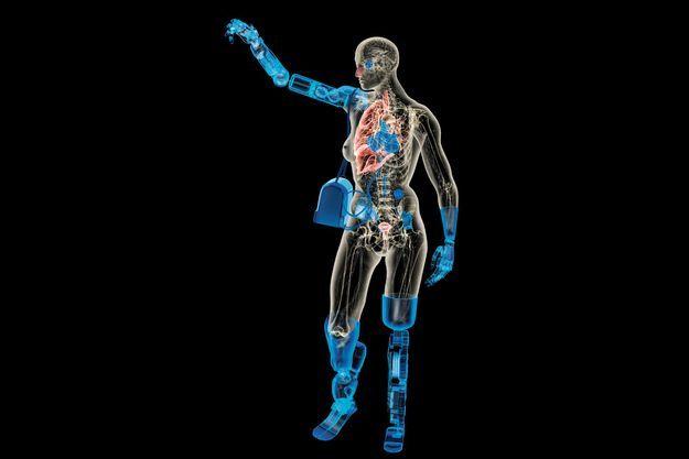 La femme presque entièrement bionique: encore une vue de l'esprit mais plus pour longtemps.