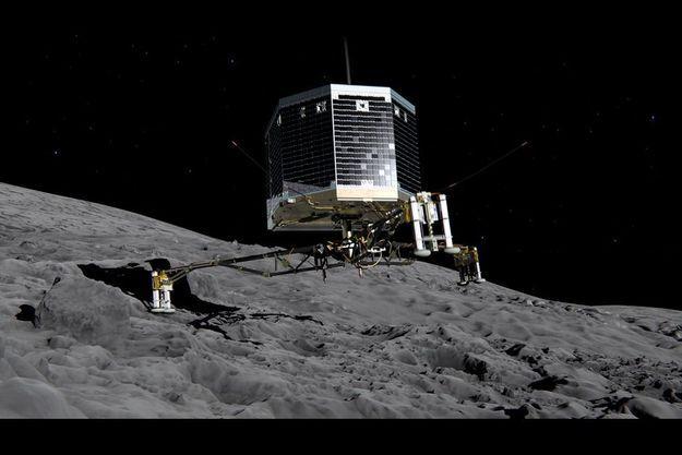 Le robot Philae est parvenu à se poser sur la comète Tchouri.