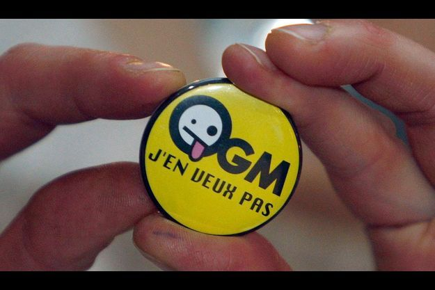 Un badge anti-OGM