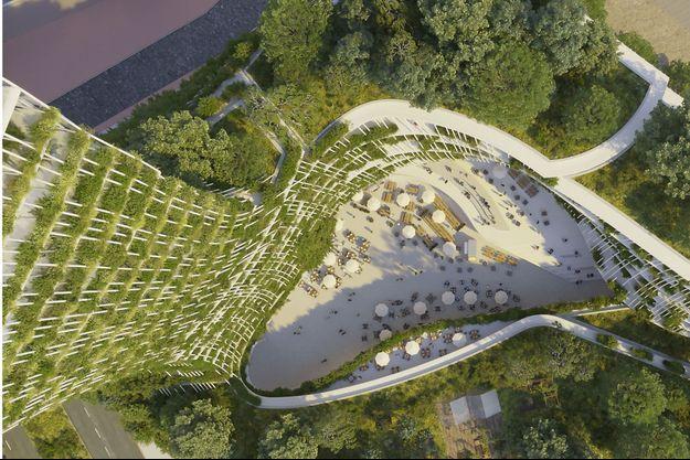 A Créteil, cet immeuble aura son propre écosystème