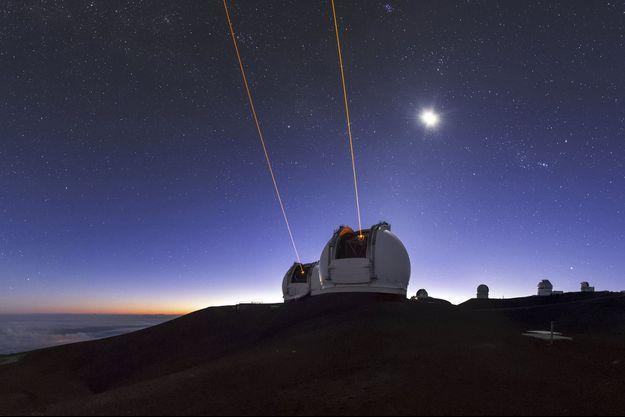 Un télescope à Hawaï. (photo d'illustration)