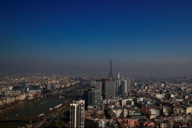 Paris pollué, le 22 mars dernier.