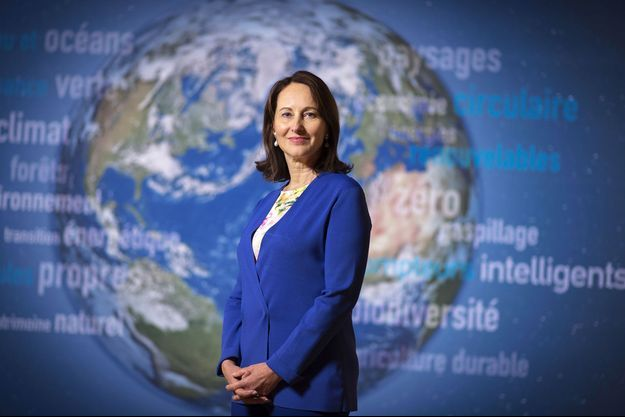 La ministre de l'Environnement Ségolène Royal