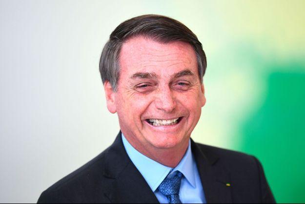 Jair Bolsonaro à Brasilia, vendredi dernier.