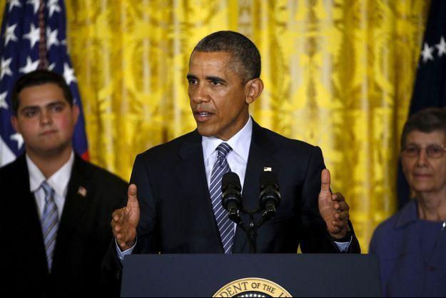 Le président Obama présentait son plan climat à la Maison Blanche.