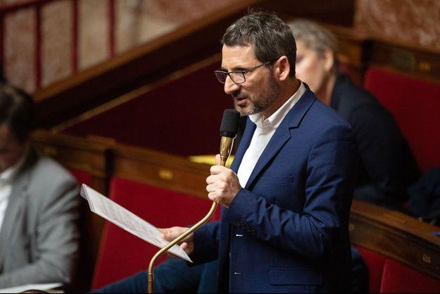 Matthieu Orphelin à l'Assemblée nationale, en février dernier.