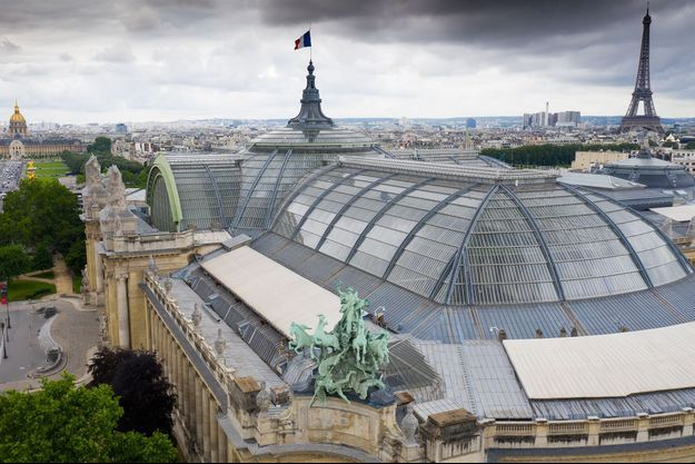Vue aérienne du Grand Palais, à Paris, en septembre dernier. (Photo d'illustration)