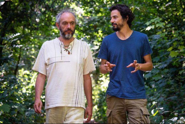 Yvan Saint-Jours et Pablo Servigne.