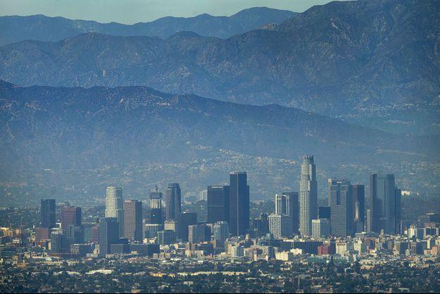 Une vue du centre-ville de Los Angeles, en août 2015.