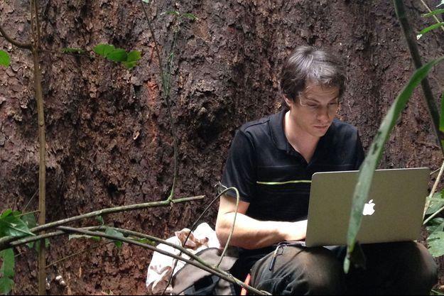 Topher White, le fondateur de la start-up Rainforest Connection.