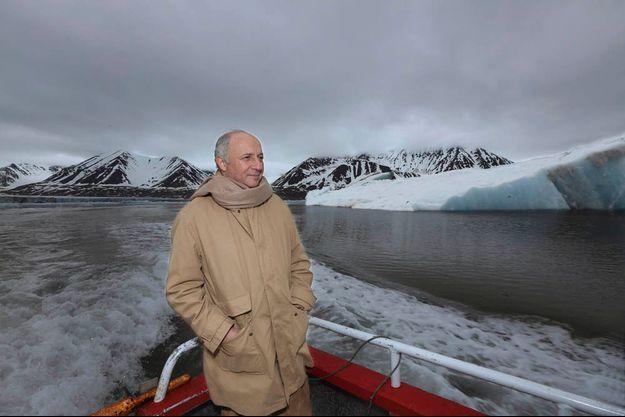 Sur l'île de Spitzberg, en Norvège, en juillet 2014, à Ny-Alesund, la localité située la plus au nord du monde.
