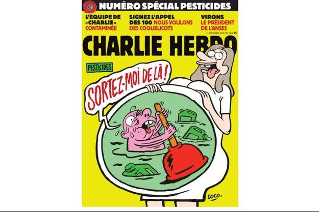 La couverture du dernier numéro de Charlie Hebdo.