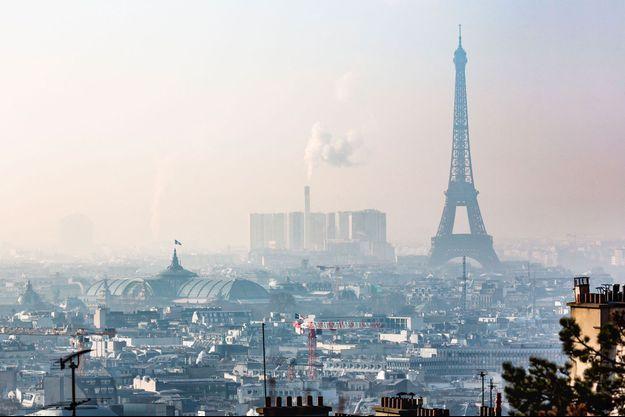 38 substances chimiques différentes ont été retrouvées dans l'atmosphère parisien.